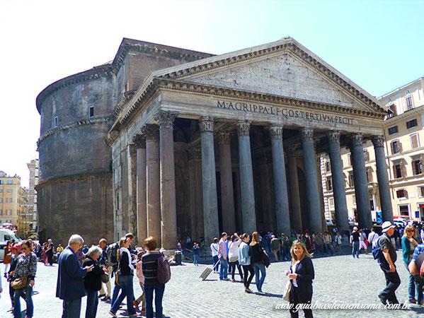 Pantheon Passeios portugues Guia brasileira Roma - O Pantheon de Roma