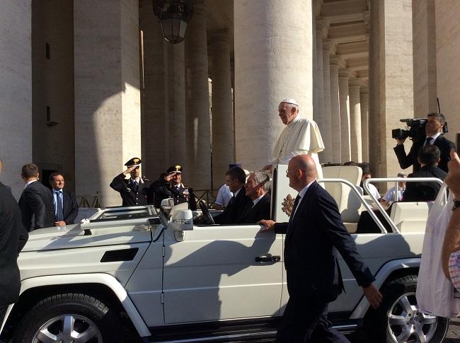 audiencia papal guia portugues - Audiência de Quartas-feiras com o Papa