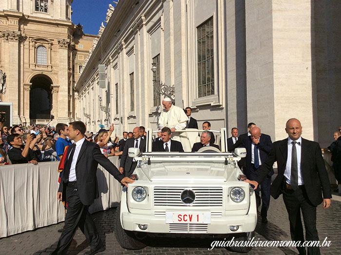 papamovel audiencia papal guia brasileira roma - Audiência de Quartas-feiras com o Papa