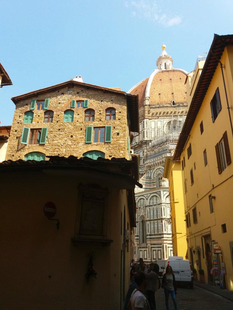 pela ruas de florenca - Centro Histórico de Florença