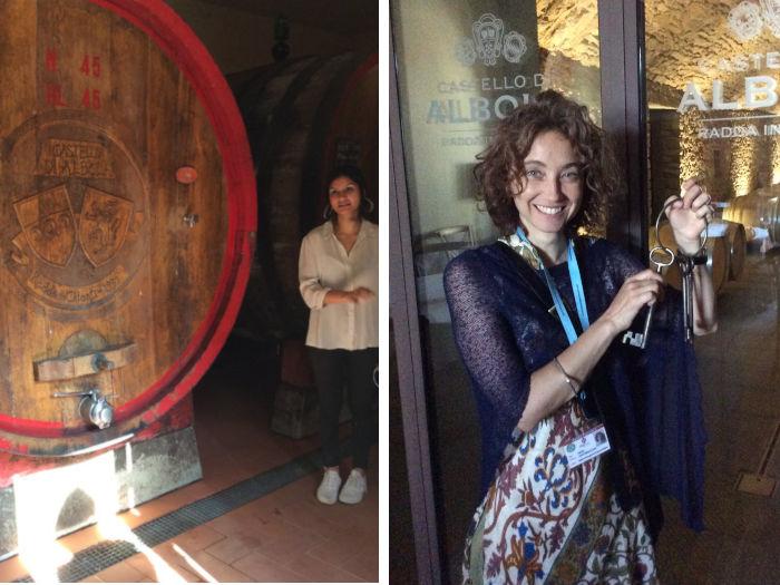 visita cantina degustacao vihno chianti - Degustação exclusiva de vinhos na Toscana