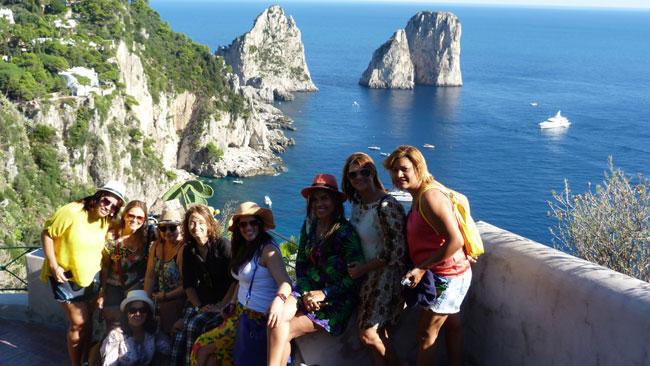 Visitar Capri com guia em português