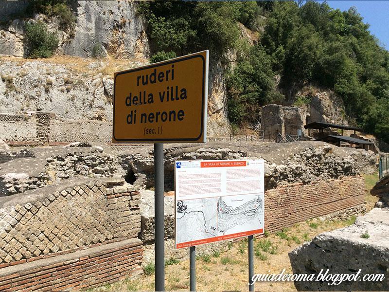 restos villa nerone - Visitar o Mosteiro de São Bento