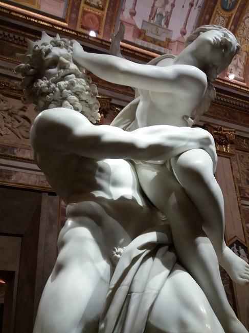 Rapto de Proserpina, Bernini