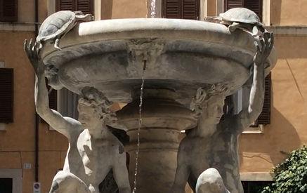 Fonte das Tartarugas, gueto hebraico Roma