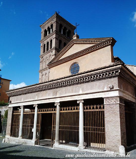 basilica sao jorge velabro roma guia portugues - A basílica de São Jorge al Velabro em Roma
