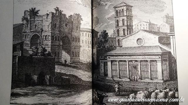 basilica sao jorge velabro roma guia portugues incisao vasi - A basílica de São Jorge al Velabro em Roma