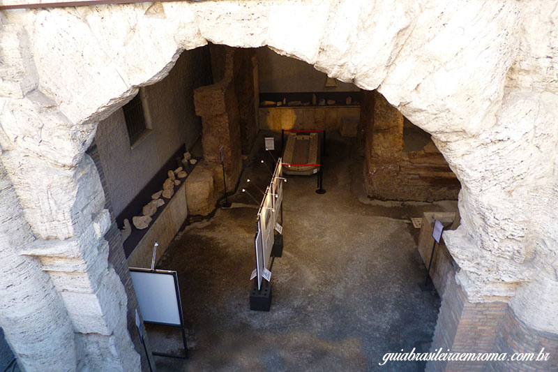 subterraneos praca navona estadio domiciano vista rua - Subterrâneos da Praça Navona
