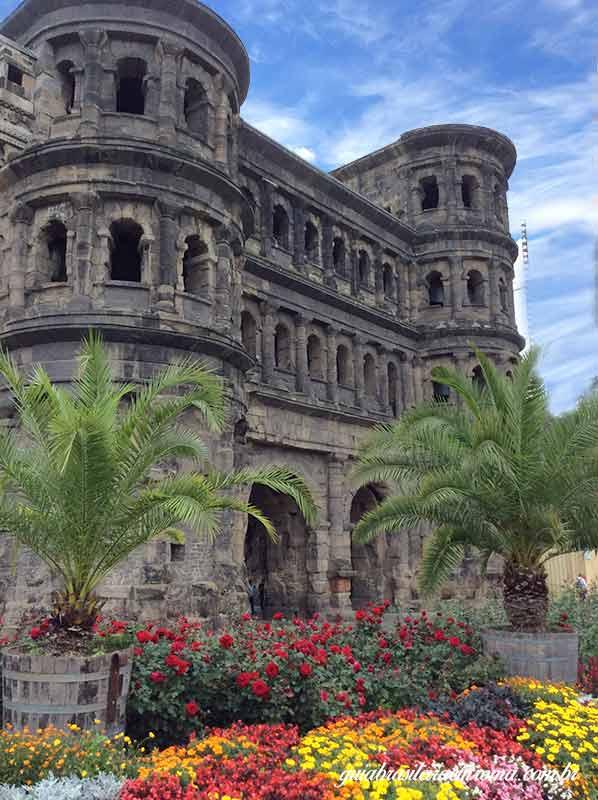 trier porta nigra blog guia brasileira - Trier, a cidade romana mais antiga da Alemanha