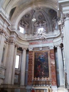 santos lucas martina altar sao sebastiao pietro cortona 225x300 - Igreja dos Santos Lucas e Martina
