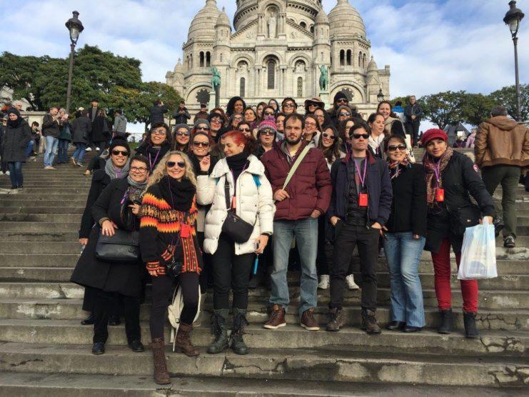 iV eebb paris montparnasse - Patrícia de Roma na Lutécia - o IV Encontro Europeu de Blogueiros Brasileiros