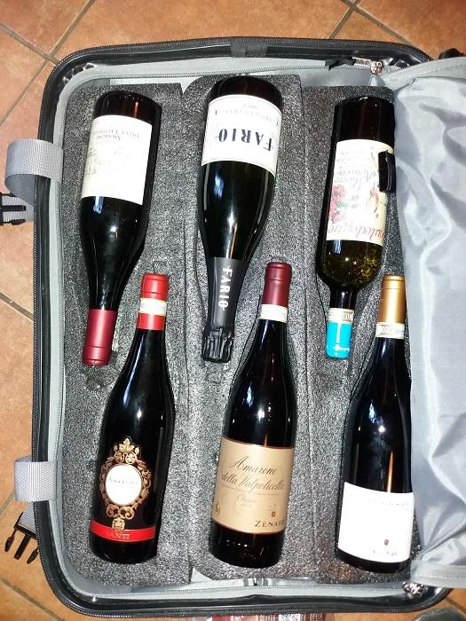 mala transporte vinho brasil 1 - Como levar vinho da Itália para o Brasil