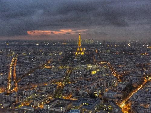 vista paris montparnasse - Patrícia de Roma na Lutécia - o IV Encontro Europeu de Blogueiros Brasileiros