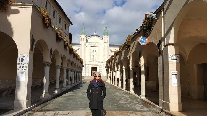 Santuario Cassia guia portugues - Visitas guiadas em Roma em português