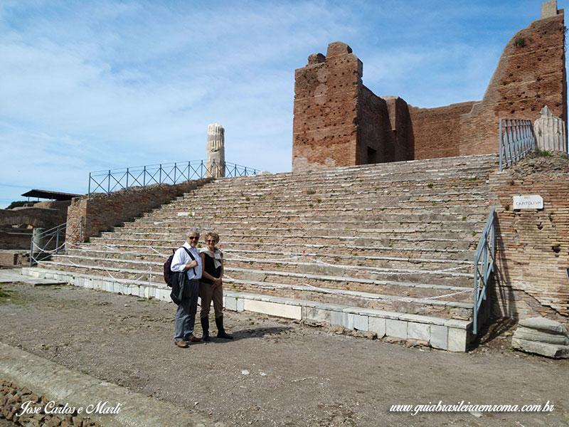 ostia antiga guia roma portugues - Visitas guiadas em Roma em português