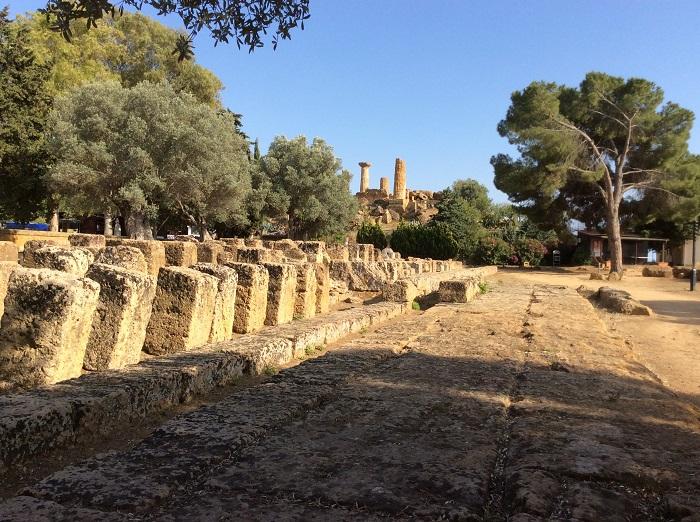Agrigento Vale templos hercules - Vale dos Templos na Sicília
