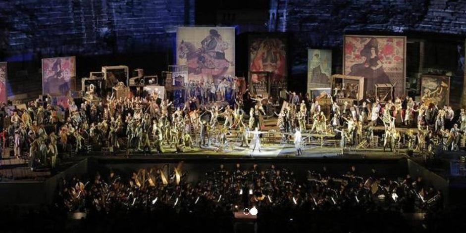 carmen arena verona 2018 - Verona sempre foi romântica