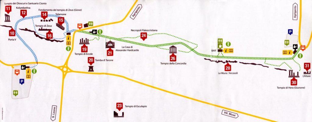 mapa vale dos templos 1024x400 - Vale dos Templos na Sicília