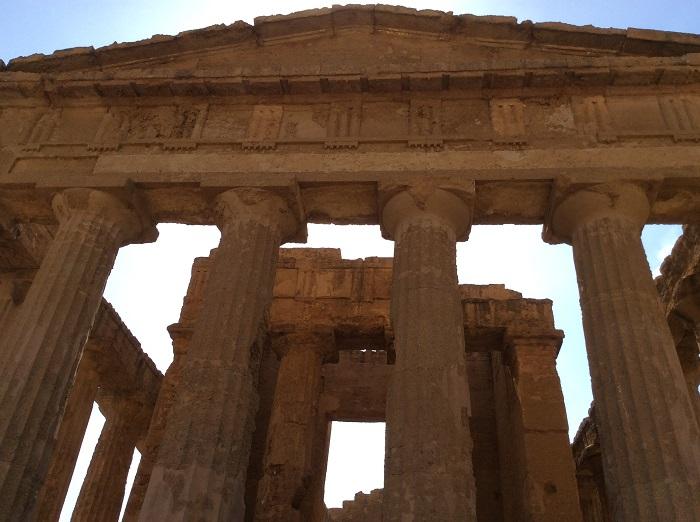 templo zeus vale agrigento - Vale dos Templos na Sicília
