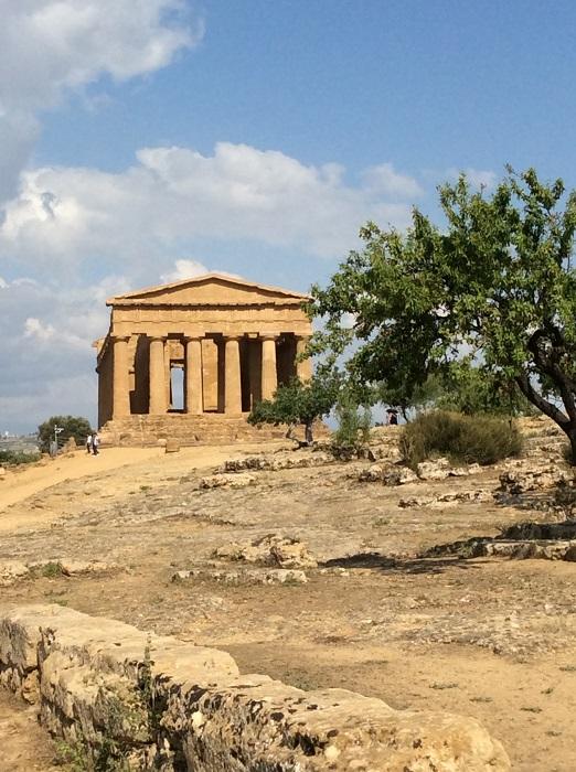 vale dos templos hera paisagem - Vale dos Templos na Sicília