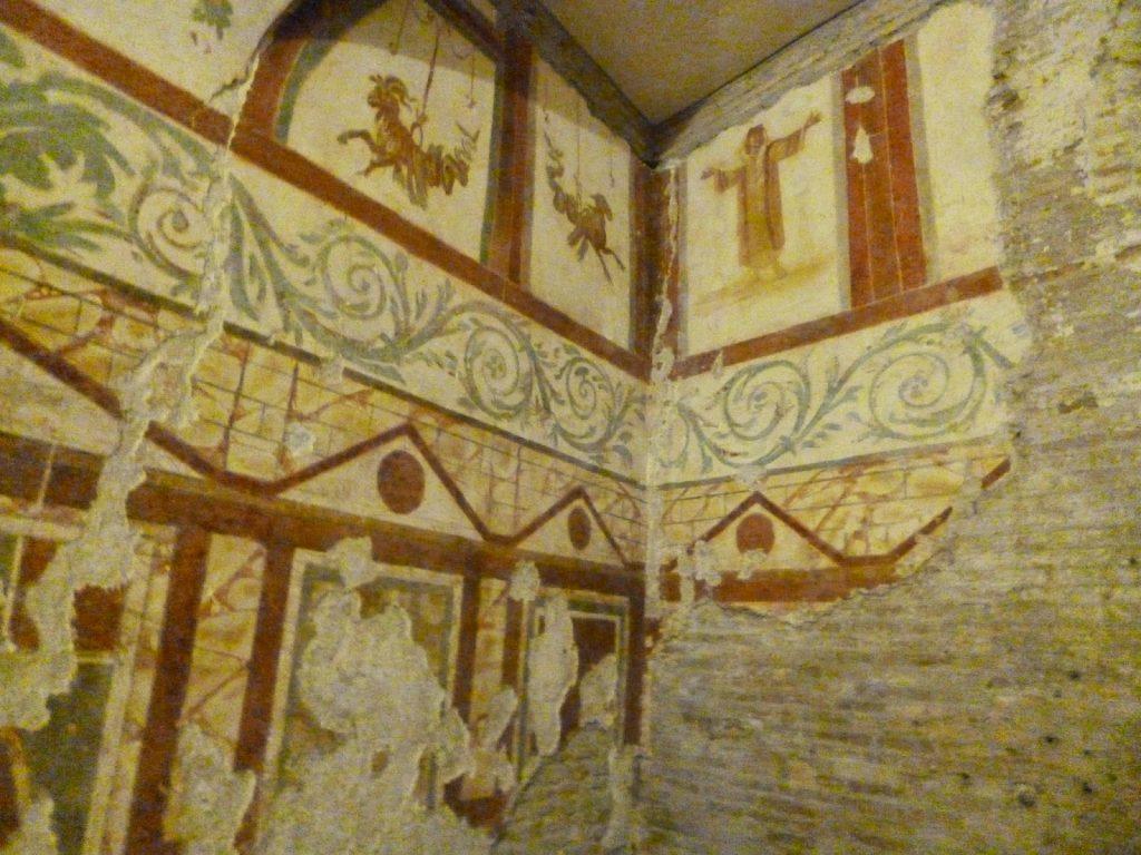 colina celio afrescos casas romanas guiabrasileiraemroma 1024x768 - A colina Celio em Roma
