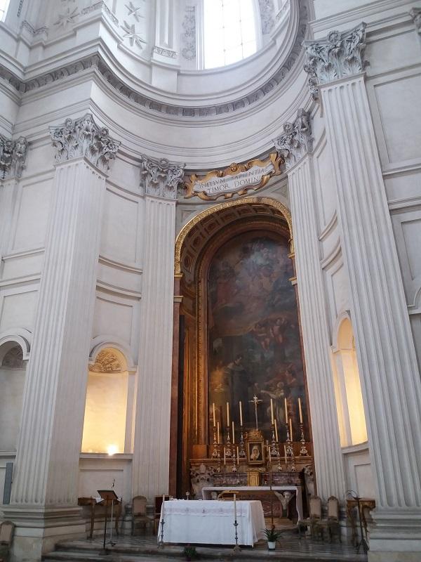 Borromini altar sant ivo sapienza guia brasileira roma - Borromini, o ápice do Barroco Romano