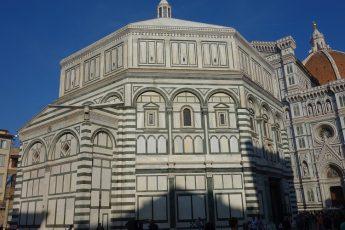 Batistério de Florença, decoração marmórea exterior