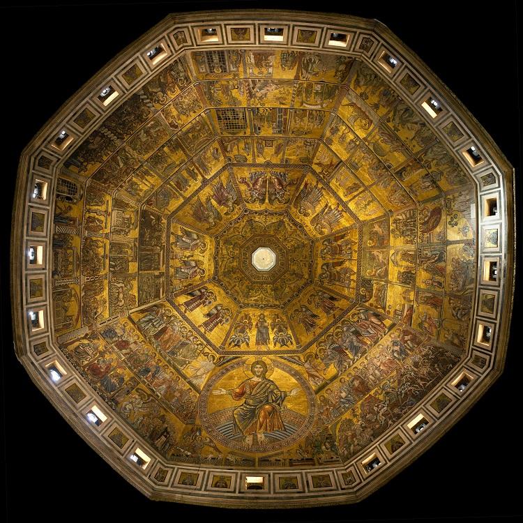 mosaico batisterio florenca - Imperdível o Batistério de Florença