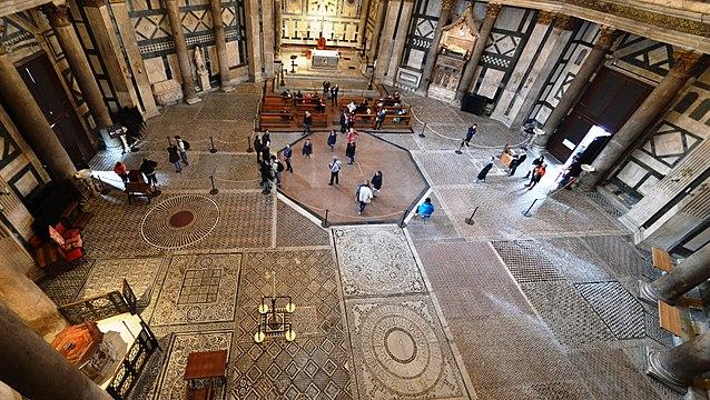 piso batisterio florenca - Imperdível o Batistério de Florença