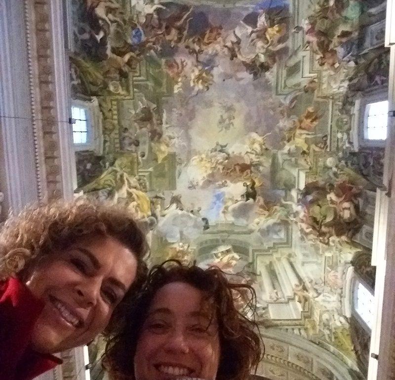 Passeio Roma Barroca com uma pessoa muito especial!