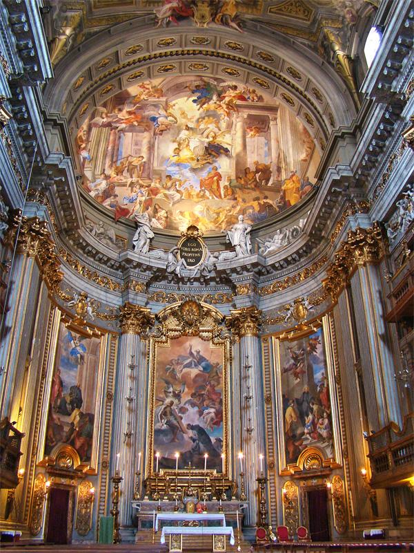 capela maior santo inacio roma big - A igreja Santo Inácio