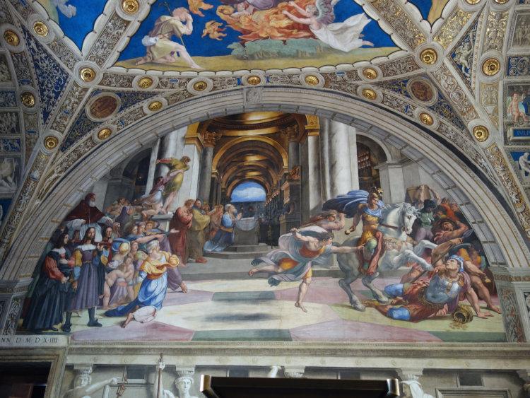 visita guiada vaticano salas rafael 1 - Visita guiada Salas de Rafael - Museus Vaticanos