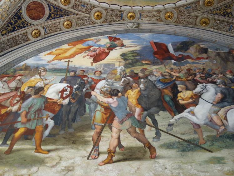 visita guiada vaticano salas rafael 2 - Visita guiada Salas de Rafael - Museus Vaticanos