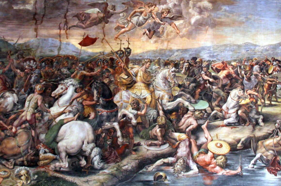 Salas de Rafael, Museus Vaticanos, Salão de Constantino