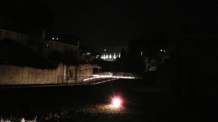 vista inedita coliseu forum cesar guia brasileira - Visitar o Fórum Romano de noite