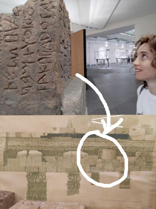 lapis niger museu termas diocleciano - Museu das Termas de Diocleciano