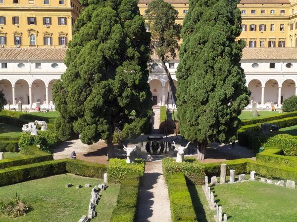 patio michelangiolesco termas diocleciano - Museu das Termas de Diocleciano