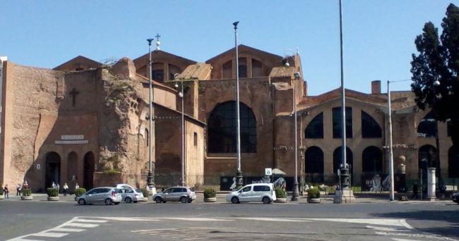 santa maria dos anjos roma michelangelo - Museu das Termas de Diocleciano