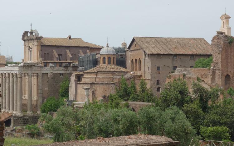 Templo de Rômulo no Fórum Romano