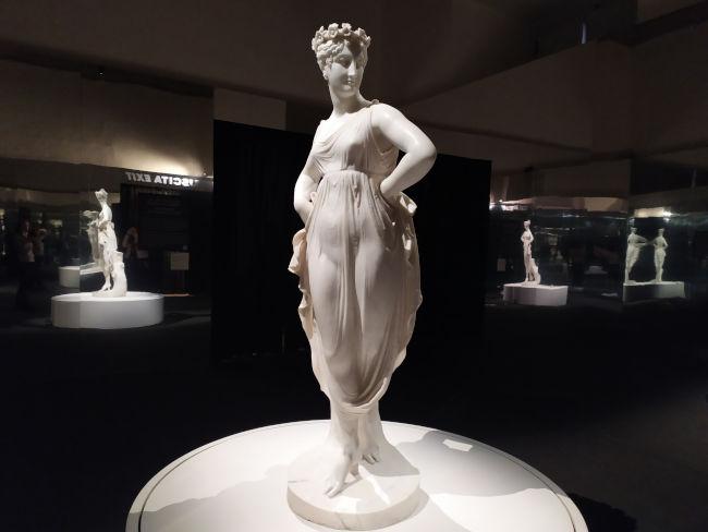 bailarina maos ancas canova roma expo - Canova, Eterna Beleza