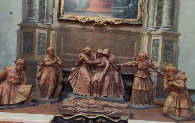 bolonha catedral compianto alfonso lombardi - Visitar Bolonha!
