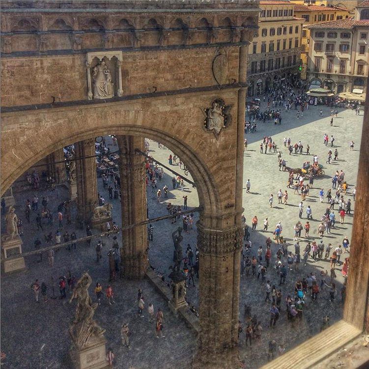 loggia dei lanzi visitar centro historico florenca - Turismo na Toscana