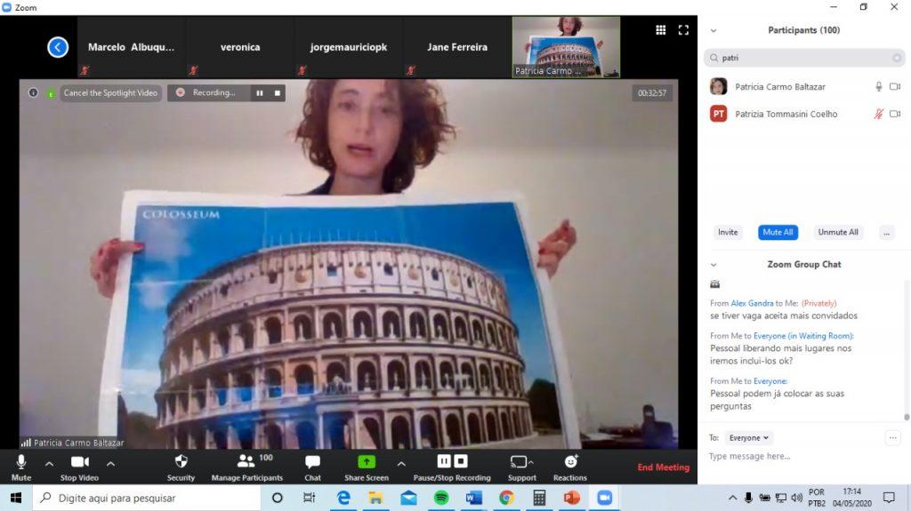 curso online coliseu guia brasileira roma 1024x575 - Curso história online Itália